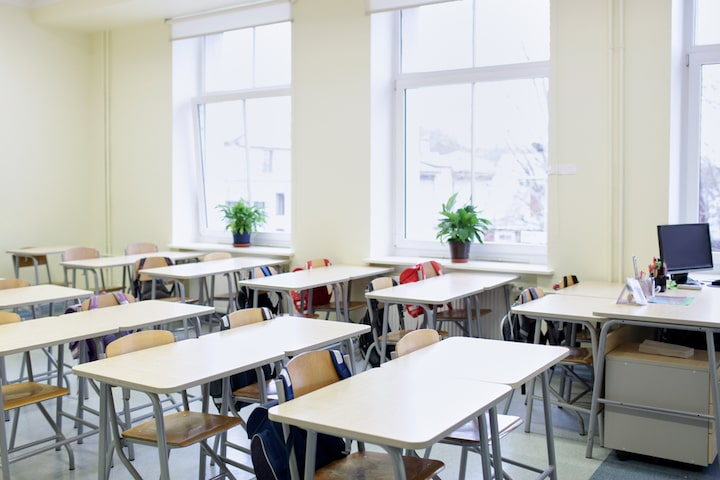 Classroom School Disinfecting Sanitizing Service Omaha